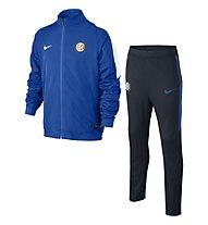 Nike Inter Milan Revolution Sideline Knit - tuta allenamneto ragazzo, R. Blue/D. Obsidian/White