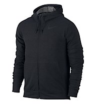 Nike Dri-FIT Training Fleece Hoodie Kapuzenjacke Herren, Black