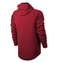 Nike Men Sportswear Tech Fleece Windrunner Hoodie Giacca con cappuccio, Red