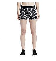 "Nike Pro 3"" Giraffe Short donna, Black/White"