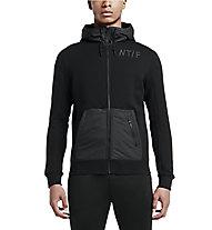 Nike Track and Field Full-Zip Hoody felpa con cappuccio, Black