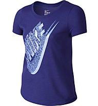 Nike Tri Blend Palm Futura Shirt Mädchen, Deep Night