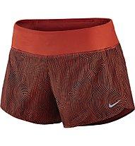"""Nike Zen 3"""" Rival Short pantaloncini running donna, Crimson"""