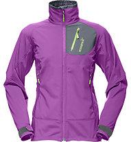 Norrona Svalbard flex2 Softshelljacke Damen (2012/13), Purple Rain
