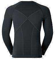 Odlo Maglia funzionale manica lunga Evolution warm Shirt l/s crew neck, Seaport/Black