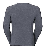 Odlo Revolution TW Warm Shirt LS crew neck, Grey Melange