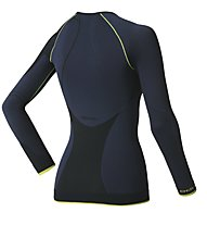 Odlo Evolution Warm Greentec Shirt, Navy/Black