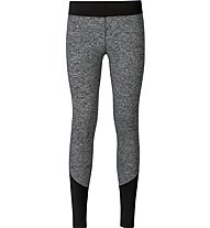 Odlo Warm Maget Tights - Laufhose Damen, Black