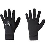 Odlo Zeroweight Classic Gloves - guanti running, Black