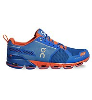 ON Cloudflyer - scarpa running, Water/Flame