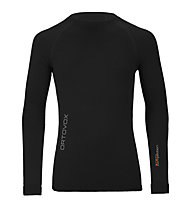 Ortovox 230 Competition Long Sleeve maglia a manica lunga merino, Black raven