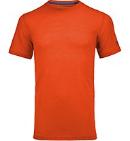 Ortovox Cool S-Sleeve T-Shirt trekking, Orange