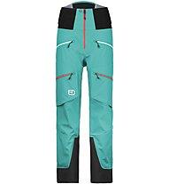 Ortovox Guardian Shell Pants Damen Hardshellhose, Green
