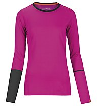 Ortovox Maglia manica lunga Rock'n'Wool donna, Very Berry