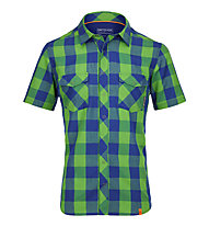 Ortovox Rock'n'Wool Cool Camicia a manica corta trekking, Absolute Green