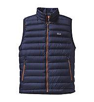 Patagonia M's Down Sweater Vest Gilet piuma, Classic Navy