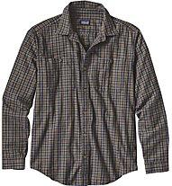 Patagonia M's Long-Sleeved Pima Cotton Shirt, Blue
