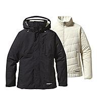 Patagonia 3 in 1 Snowbelle Doppeljacke Damen, Black/Raw Linen