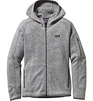 Patagonia Better Sweater Hoody Damen, Grey