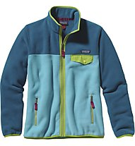 Patagonia W's Full-Zip Snap-T Jkt Giacca in pile donna, Blue