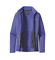 Patagonia R1 Full-Zip Giacca in pile donna, Violet Blue
