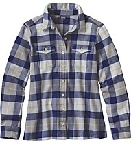 Patagonia Ws Long -Sleved shirt Langarmdamenbluse, Blue
