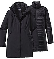 Patagonia Ws Vosque 3-Parka Giacca Donna, Black