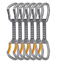 Petzl Djinn Axess 6 Pack - set rinvii, Silver/Orange