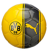 Puma BVB Fan Ball - pallone da calcio Borussia Dortmund, Yellow/Black