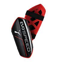 Puma Evo Speed 5.5 - Fußball Schienbeinschoner, Black/Red