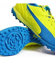 Puma EvoSpeed 4.4 TT Scarpe Calcio, Light Yellow/Dark Blue