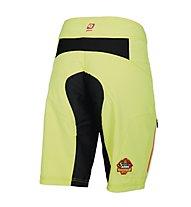 Qloom Manly Shorts Damen MTB-Radhose, Lime