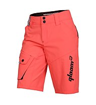 Qloom W's Shorts FRANKLIN, Hot Coral