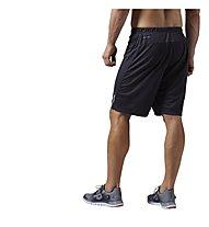 Reebok One Series Speedwick Knit pantaloncini ginnastica, Coal Black
