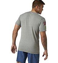 Reebok Crossfit Triblend 1 Männershirt, Silvery Green