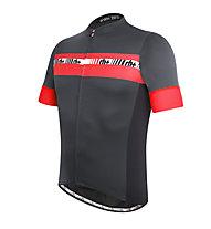 rh+ Maglia bici Academy, Anthracite/Red
