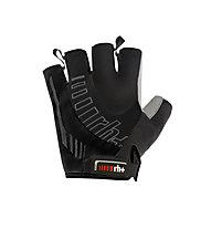 rh+ Ergo Glove Fahrradhandschuh, Black/Black