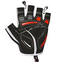 rh+ Ergo Glove Fahrradhandschuh, White/Red/Black
