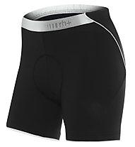 rh+ Fusion W II Shorts Damen-Radhose, Black/White