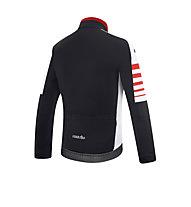 rh+ Giacca bici Legacy, Black/White/Red