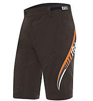 rh+ Orion Shorts MTB-Radhose, Wood/Black