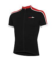 rh+ Prime Jersey Radtrikot, Black/Red