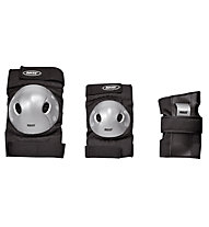 Roces Protezioni Junior Basic 3 pack, Black/Grey