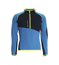 Rock Experience Lavaredo 1/2 Zip Fleecepullover, Poseidon/Swedish Blue