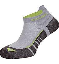 Salewa Approach No Show Socks, Sleet