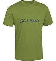 Salewa Puez (Dreizin) Dry'ton T-Shirt, Basilico