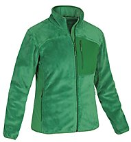 Salewa Flocke Lo. W Jacket Giacca in pile Donna, Eucalyptus Uni