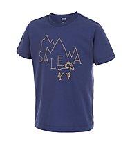 Salewa Frea Stambecco T-Shirt arrampicata bambino, Ultramarine