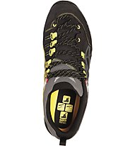 Salewa MS Wildfire Pro GORE-TEX Scarpe da trekking, Black Out/Yellow