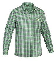Salewa Pelusios CO Shirt L/S, Lilli Eucalypthus